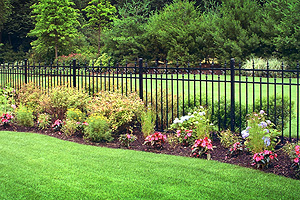 St James, Long Island fence company designs and installs beautiful estate aluminum fences and gates to enhance your property.
