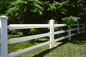Beautiful fence in a Long Island location